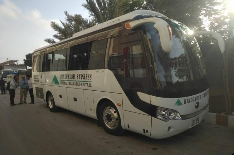 Luxury Bus service from Islamabad to Chitral